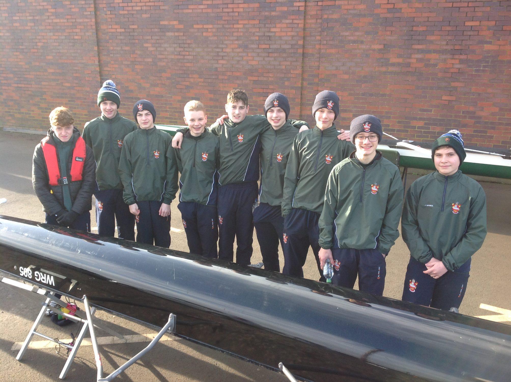RowingAwardsJ15 boys octuple