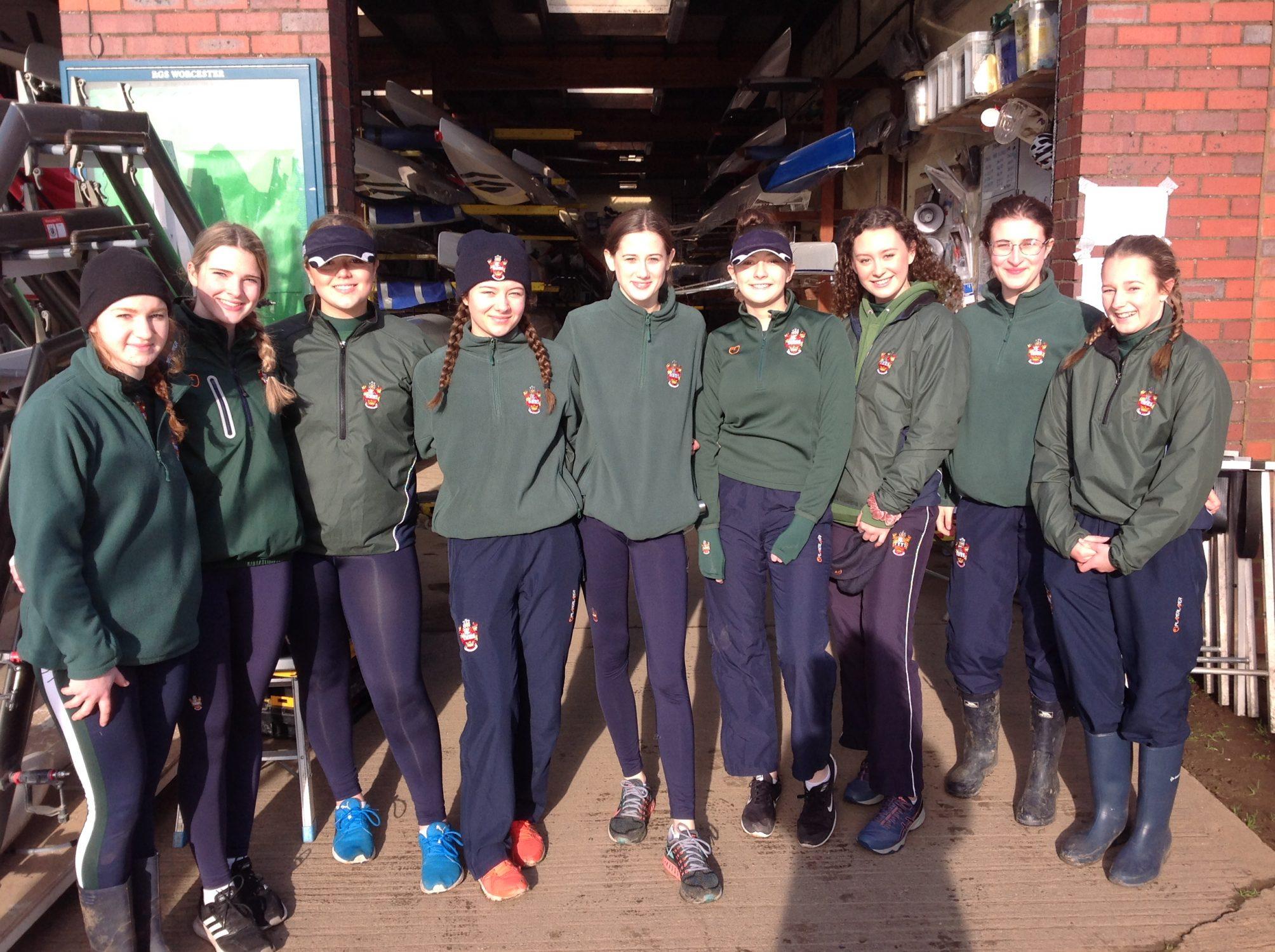 RowingAwardsNovice girls' eight