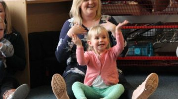 Acorns toddler group mother and toddler