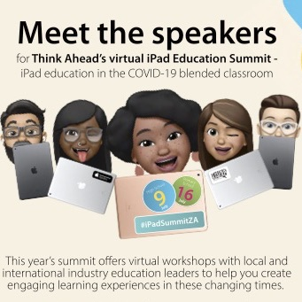 Online Virual iPad Summit - Meet the SpeakersSquare