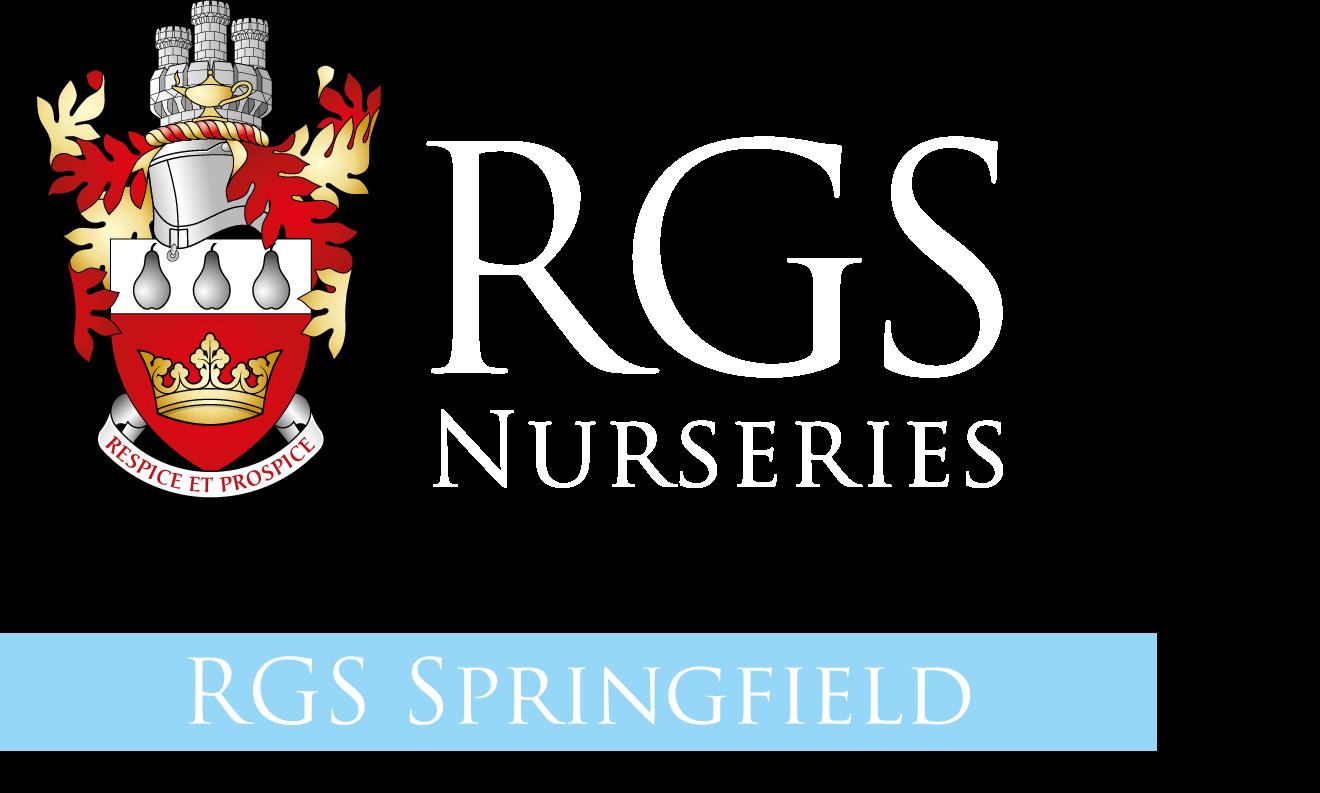 RGS Nurseries logo reversed SF2021