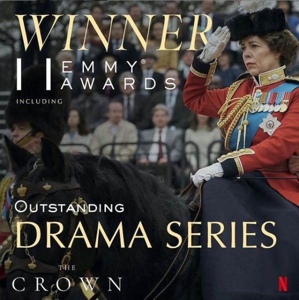 Winner! 'Outstanding Drama Series 2021